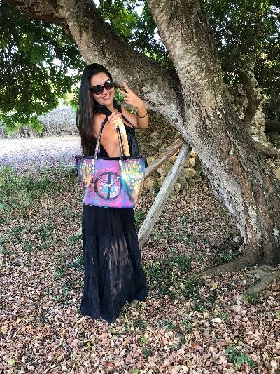 Rückseite Crazy Art Bag - Cara primera - verkauft