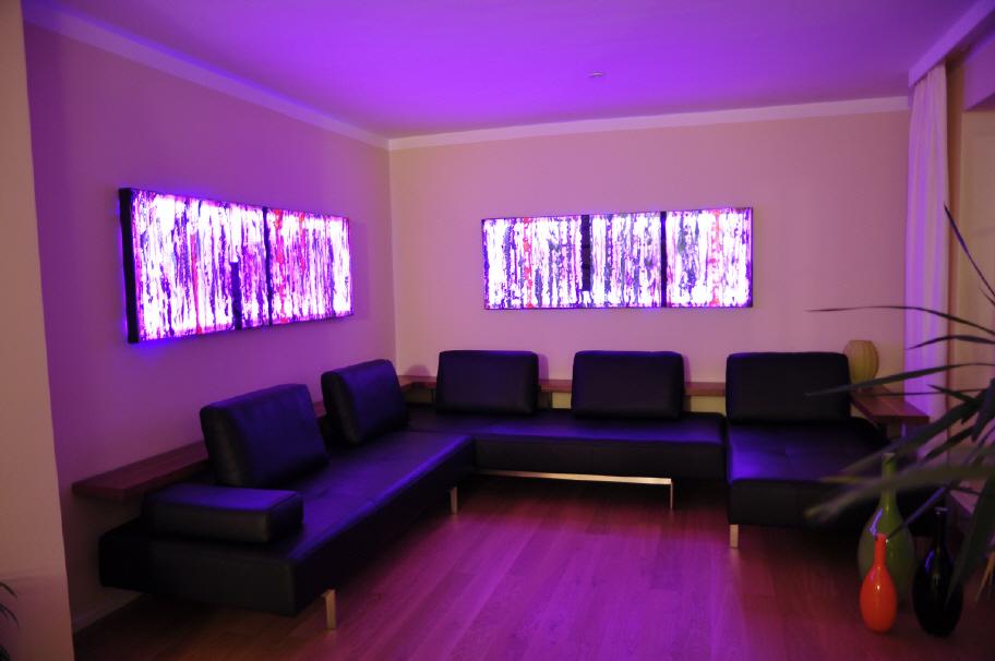 Leuchtobjekte mit Farbwechsler